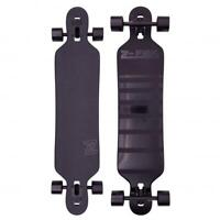 "Z-Flex Shadow Lurker Drop Through Cruiser Longboard 41"", Black"