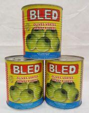 Olives Vertes sans Pierre de Maroc Épicerie Fine - 3 x 850 G - Végétarien Vegan