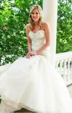 Blue by Enzoani Houston Ivory Mermaid Wedding Gown Size 18 NEW Floor Sample
