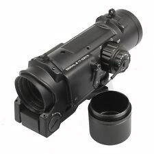 Quick Detachable Tactical 1x-4x Fixed Dual Role Optic Rifle Scope for Airsoft