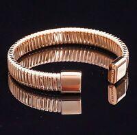 Liebeskind Berlin LJ-0166-B-58 armband armreif edelstahl farbe Rosé gold neu