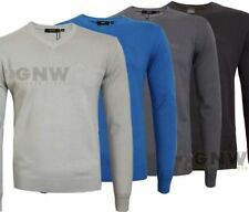HUGO BOSS Cotton Patternless Jumpers for Men
