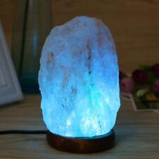 HIMALAYAN PINK SALT ROCK CRYSTAL LAMP NATURAL HEALING IONIZING LAMPS NIGHT