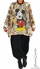 Neues AngebotLA BASS LAGENLOOK Tunika Pullover Shirt Micky Maus L-XL-XXL-XXXL 44 46 48 50 52