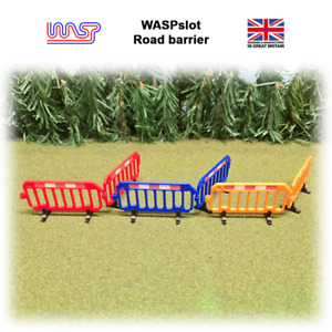 1/32 scale Road barrier, Track side fencing, crowd control fence, slot car track