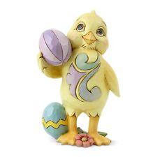 Enesco E0 Heartwood Creek Jim Shore 3.74 in H Mini Chick with Easter Egg 6006229