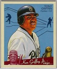 2008 Upper Deck Goudey #226 Tony Gwynn NM/MT Rare Blue-Back Mini (Padres)