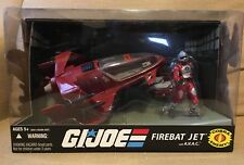GI JOE 25th Anniversary 2008 Firebat Jet With AVAC MIB Cobra