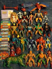 MASTERS OF THE UNIVERSE vintage set of 21 Action Figures  He-Man  She-Ra