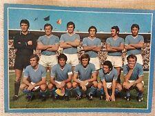 CARTOLINA CALCIO NAPOLI SQUADRA SCHIERATA CAMPIONATO 1971/72