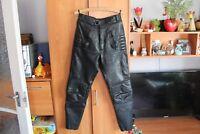 Richa leder Motorradhose,biker leather pants vintage