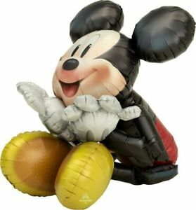 Mickey Mouse Air walker Foil Balloon Kids Birthday Party Decorating Supplies AWK