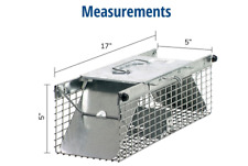 small 2-door professional live animal cage trap for rat, squirrel, chipmunk, a
