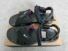 Nike ACG Air Deschutz Sandals (Black/Purple/White) UK SIZE 14; US 15; EU 49.5