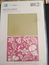 Lifestyle Crafts Wildflower Embossing Folders A2 *New*