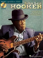 John Lee Hooker Signature Guitar Licks Learn to Play Blues TAB Music Book & CD