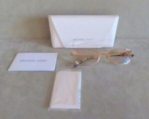 Women's Michael Kors Designer Eyeglasses w/ Wire Rim Frames Glasses