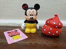 "DISNEY VINYLMATION 3"" BAKERY SERIES Minnie Mouse Cupcake Figure"