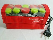 Remington All That Hot Curlers Travel Size with 10 Rollers and Clips