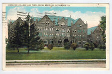 Morovian College and Theological Seminary, Bethlehem, Pa, 1934
