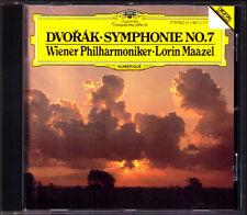 Lorin Maazel: Dvorak Symphony No. 7 Vienna Filarmonica PDO CD Filarmonica DG 1984