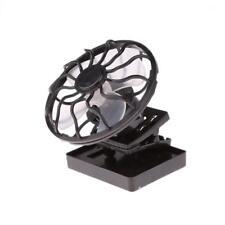 Mini Portable Clip-on Sun Power Cooler Solar Cell Fan Travel Outdoor Cycling
