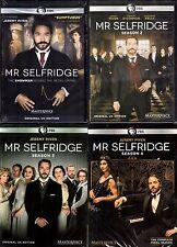 Mr. Selfridge ALL Seasons 1-4 Complete DVD Set Collection Series TV Show Lot Box