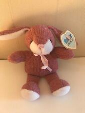 Baby Aurora Knitted Soft Toy Bunny Rabbit Comforter Hug Toy Plush