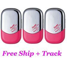 5mm x 6m Pentel Correction Tape Pop N Pop Easy Use Refillable 3 Pcs Free Ship