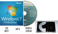 Microsoft Windows 7 Professional PRO Full Version & Upgrade SP1 + HARDRIVE