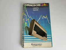 Commodore 64 User's Guide First Edition Eight Printing  Spiral Bound Free Ship