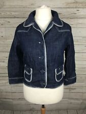 Women's Tommy Hilfiger Denim Jacket - XL UK12/14 - Navy - Great Condition