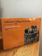 dept 56 halloween village accessories Haunted Wall