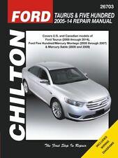 Taurus & Five Hundred Chilton Repair Manual: 2005-2014 #26703