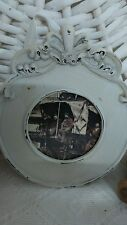 New Picture Frame Antique/Nostalgia/Shabby Picture Frame New White