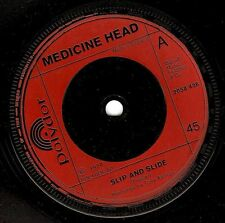 "MEDICINE HEAD Slip And Slide 7"" Single Vinyl Record 45rpm Polydor 1974 EX"