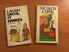 The Laugh Journal & Laugh Until it Hurts (Vintage Scholastic)