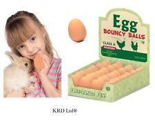 Inflables Huevo Juguete falso huevos como verdaderos rebotando divertida Broma Chiste De Goma Imitación