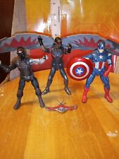 Marvel Legends Series Falcon with Flight Tech and Redwing 3.75-Inch Hasbro