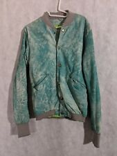 Giorgio Brato WLG Leather Cloudburst Bomber Jacket 48 Wild Lab Generation
