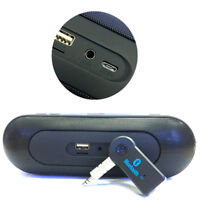 Wireless USB Mini Bluetooth Aux Stereo Audio Music Cars Adapters Receiver 3.5mm