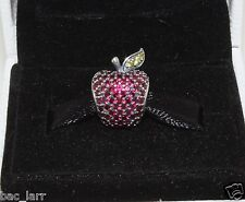 "AUTHENTIC PANDORA CHARM""Red Pave Apple Charm 791485CFR ""848"