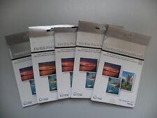 "Set of 5 Photo Paper Brilliant (4"" x 6"") - Total 100 Sheets - Free P&P"