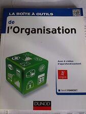 La Boîte à outils de l'Organisation de Benoît Pommeret, DUNOD,     9782100585298