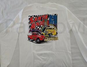 LONG SLEEVE Santa Ana Southern California Drag Strip T-Shirt Willys Ford