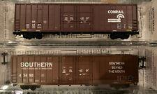 N Scale MTL Waffle Side 60' High Cube Box Car Southern Conrail Micro Trains Line