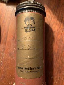Vintage James Heddon's Pal Thorobred Fly Rod #155 6.5' Tube/sock shows no use