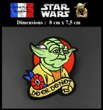 Écusson Brodé Thermocollant NEUF ( Patch Embroidered ) - Star wars Maitre Yoda