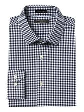 Banana Republic Camden Standard-Fit Non-Iron Stretch Gingham Shirt New NWT SMALL