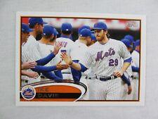Ike Davis New York Mets 2012 Topps Baseball Card 24